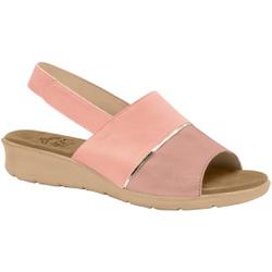 Sandália com Velcro para Esporão, Fascite e Joanete - Quartzo - MA10095Q - Pé Relax Sapatos Confortáveis