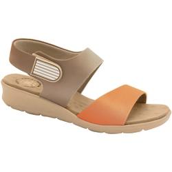 Sandália com Velcro para Esporão e Fascite - Ceres / Torrone - MA10098CT - Pé Relax Sapatos Confortáveis