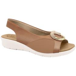 Sandália c/ Velcro para Joanete - Antique - MA10104AN - Pé Relax Sapatos Confortáveis