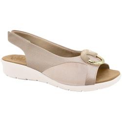 Sandália c/ Velcro para Joanete - Bistro - MA10104BI - Pé Relax Sapatos Confortáveis