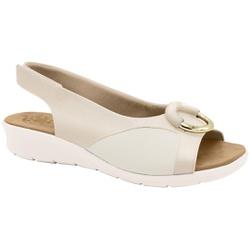 Sandália c/ Velcro para Joanete - Porcelana - MA10104PO - Pé Relax Sapatos Confortáveis