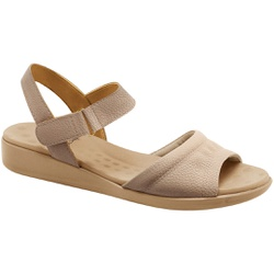Sandália Anatômica Esporão E Fascite - Bege - MA14018LI - Pé Relax Sapatos Confortáveis