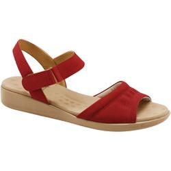 Sandália Anatômica Fascite E Esporão - Scarlet - MA14018VM - Pé Relax Sapatos Confortáveis