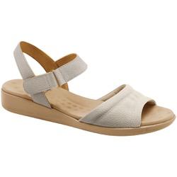Sandália Fascite e Esporão - Off White - MA14018OW - Pé Relax Sapatos Confortáveis