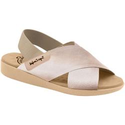 Sandália para Senhoras Esporão e Fascite - Ivory - MA14031PT - Pé Relax Sapatos Confortáveis