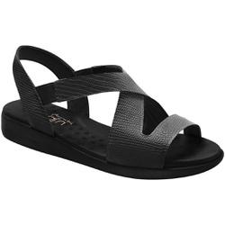 Sandália Anatômica - Preta - MA14034PT - Pé Relax Sapatos Confortáveis