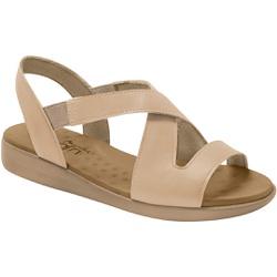 Sandália para Esporão e Fascite - Bege / Bistro - MA14034BB - Pé Relax Sapatos Confortáveis
