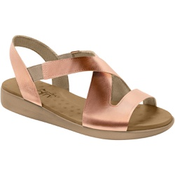 Sandália para Esporão e Fascite - Cobre - MA14034CO - Pé Relax Sapatos Confortáveis