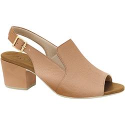 Sandália Ankle Boot Confortável - Antique / Bistro - MA176099AB - Pé Relax Sapatos Confortáveis