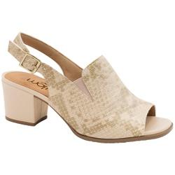 Sandália Ankle Boot Confortável - Suotiura Bege - MA176105FSB - Pé Relax Sapatos Confortáveis