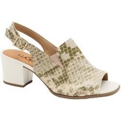 Sandália Ankle Boot Confortável - Suotiura Creme - MA176105FSC - Pé Relax Sapatos Confortáveis