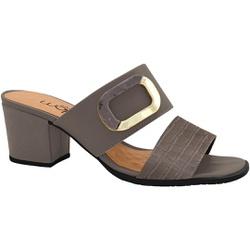 Tamanco Confortável - Grafiato - MA176109FGR - Pé Relax Sapatos Confortáveis