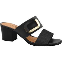 Tamanco Confortável - Preto - MA176109FVE - Pé Relax Sapatos Confortáveis