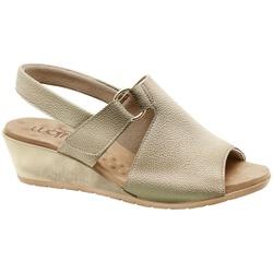 Sandália Comfort - Champagne - MA206051FC - Pé Relax Sapatos Confortáveis
