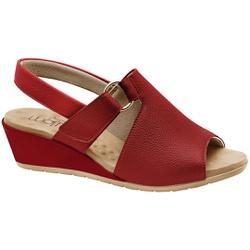 Sandália Comfort Feminina - Scarlet - MA206051FV - Pé Relax Sapatos Confortáveis