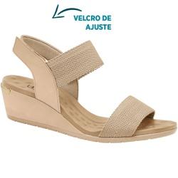 Sandália Comfort - Bistro - MA206060FB - Pé Relax Sapatos Confortáveis