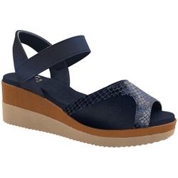 Sandália Anabela para Joanete - Suotira Marinho - MA581025FSM - Pé Relax Sapatos Confortáveis