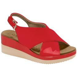 Anabela Confortável - Campari - MA581026FC - Pé Relax Sapatos Confortáveis