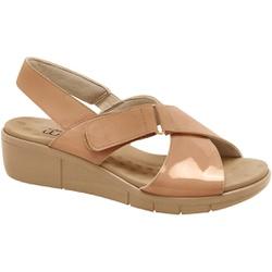 Sandália para Fascite e Esporão - Verniz New Nassau Antique - MA585004CO - Pé Relax Sapatos Confortáveis