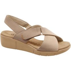 Sandália Esporão e Fascite com Velcro - Bistro - MA585004B - Pé Relax Sapatos Confortáveis