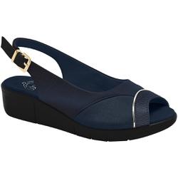 Sandália Para Joanete e Esporão - New Pele Eclipse - MA585013PE - Pé Relax Sapatos Confortáveis