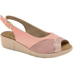 Sandália Feminina Para Joanete e Esporão - Quartzo - MA585013PL - Pé Relax Sapatos Confortáveis