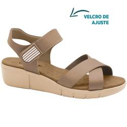 Sandália para Esporão e Fascite Plantar - Choco - MA585040C - Pé Relax Sapatos Confortáveis