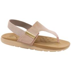 Sandália para Dores nos Pés - Bege - MA622020BE - Pé Relax Sapatos Confortáveis