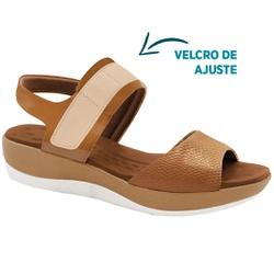 Sandália Anatômica para Esporão e Fascite - Ambar - MA832008AM - Pé Relax Sapatos Confortáveis