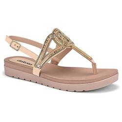 Sandália Esporão e Fascite - Aveia - DAZ6922-0002AV - Pé Relax Sapatos Confortáveis