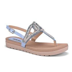 Sandália Esporão e Fascite - Acqua - DAZ6922AC - Pé Relax Sapatos Confortáveis