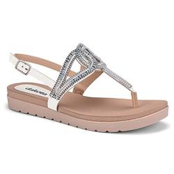 Sandália Esporão e Fascite - White - DAZ6922-0001BR - Pé Relax Sapatos Confortáveis
