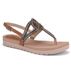 Sandália Esporão e Fascite - Conhaque - DAZ6922-0003CO - Pé Relax Sapatos Confortáveis