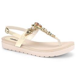Sandália Esporão e Fascite - Baunilha - DAZ8001-0003BA - Pé Relax Sapatos Confortáveis