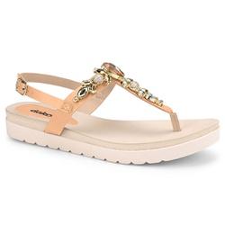 Sandália Esporão e Fascite - Peach - DAZ8001-0004PE - Pé Relax Sapatos Confortáveis
