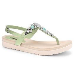 Sandália Esporão e Fascite - Salvia - DAZ8001-0002SA - Pé Relax Sapatos Confortáveis