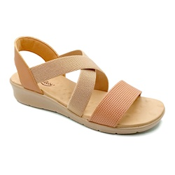 Sandália Confortável para Esporão e Fascite - Antique - PR10062AN - Pé Relax Sapatos Confortáveis