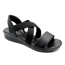 Sandália Confortável para Esporão e Fascite - Preto - PR10062PR - Pé Relax Sapatos Confortáveis