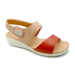 Sandália Feminina para Esporão e Fascite - Ruggine - PR10098RG - Pé Relax Sapatos Confortáveis