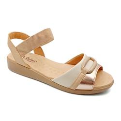 Sandália Feminina Especial para Esporão e Fascite - Cobre - PR14074CO - Pé Relax Sapatos Confortáveis