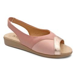 Sandália para Joanete, Fascite e Esporão - Cobre - PR14075CO - Pé Relax Sapatos Confortáveis