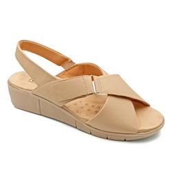 Sandália Confortável para Esporão e Fascite - Bistro - PR585004BI - Pé Relax Sapatos Confortáveis