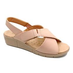 Sandália Confortável para Esporão e Fascite - Quartzo - PR585004QA - Pé Relax Sapatos Confortáveis