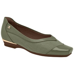 Sapatilha Comfort Maxi - Oliva - PI147137OL - Pé Relax Sapatos Confortáveis