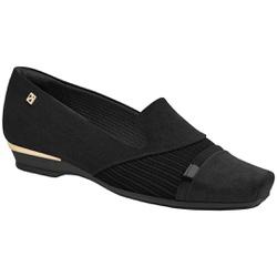 Sapatilha Comfort Maxi - Preta - PI147129PT - Pé Relax Sapatos Confortáveis