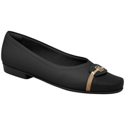 Sapatilha Confortável - Preta - PI250176PT - Pé Relax Sapatos Confortáveis