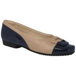 Sapatilha Confortável - Nav / Areia - PI251073NA - Pé Relax Sapatos Confortáveis