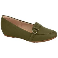 Sapatilha Super Leve - Oliva - MO7353-109OL - Pé Relax Sapatos Confortáveis