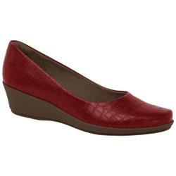 Sapato Feminino para Esporão de Calcâneo - Rubi - PI143133RB - Pé Relax Sapatos Confortáveis