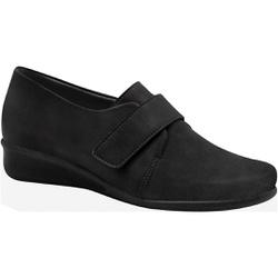 Sapato para Fascite e Esporão - Preto - MA302043PT - Pé Relax Sapatos Confortáveis